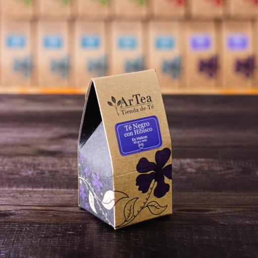 ArTea - Té Negro con Hibisco - 40 grs