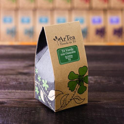 ArTea - Té Verde Saborizado con Guayaba - 100 grs