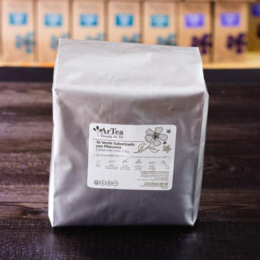 ArTea - Té Verde Saborizado con Manzana - 1 Kg