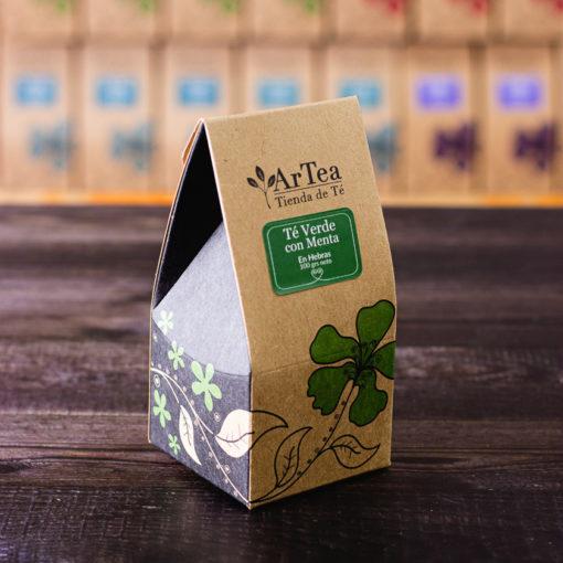 ArTea - Té Verde Saborizado con Menta - 100 grs