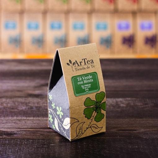 ArTea - Té Verde Saborizado con Menta - 50 grs